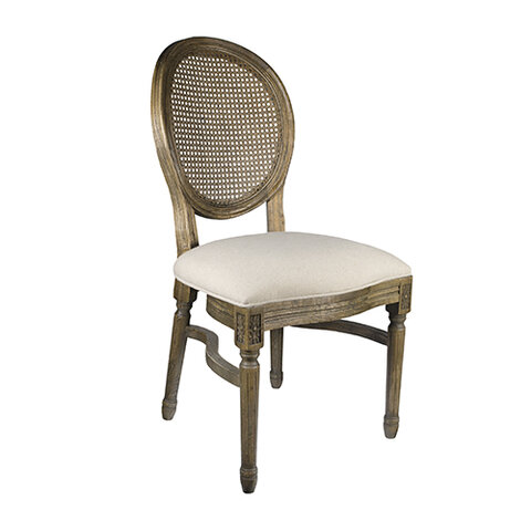 Chair - Rattan Back Louis Chair