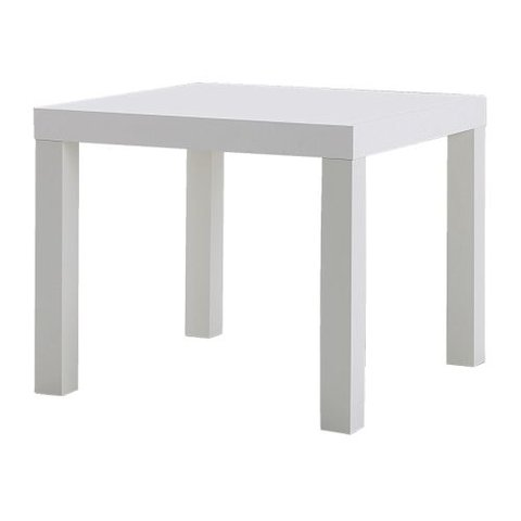 Side Table (White)