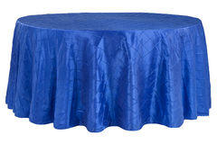 "120"" Round Tablecloth (Pintuck/Royal Blue)"