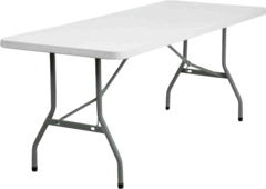 6ft Long Table  Seats 6-8 Guest