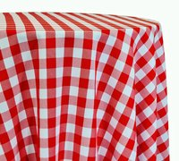 "<p></p> <p>120in Round Picnic tablecloth</p> <p><span style=""color: #008080;"">Fits our <strong><a href=""https://rickyspartyrentals.com/items/60in_round_table/"" style=""color: #008080;"">60in Round Tables</a></strong> too the floor</span></p>"