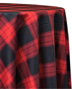 "<p></p> <p>120in Round Plaid tablecloth</p> <p><span style=""color: #008080;"">Fits our <strong><a href=""https://rickyspartyrentals.com/items/60in_round_table/"" style=""color: #008080;"">60in Round Tables</a></strong> too the floor</span></p>"