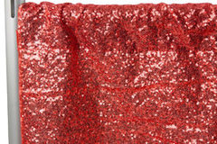 "<p><span style=""color: #000000;"">Red Glitz Backdrop</span></p> <p><span style=""color: #008080;"">8ft Tall/10ft Wide</span></p>"