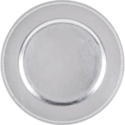 Charger Plate (Silver)
