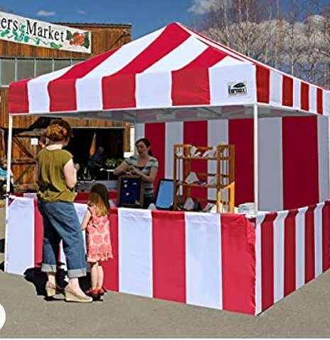 Pop-Up Canopy Tent 10 x 10