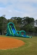 Braylin's Fall Wet Slide