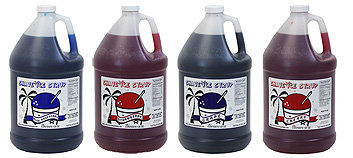 Snow Cone Syrup 1 gallon ready to use