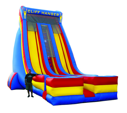 Cliff Hanger Slide