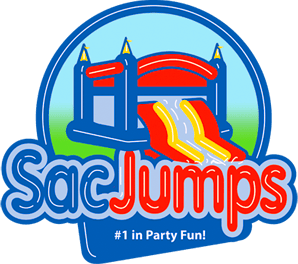 Sacramento Party Jumps Bounce Logo