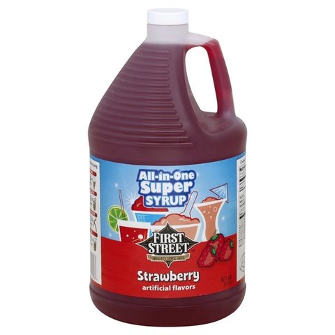 1 Gallon Strawberry Syrup