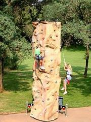 2 Person Rock Wall