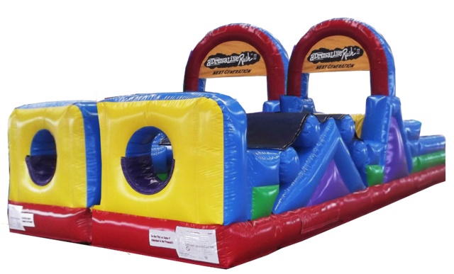 Kids Double Rush Obstacle Course