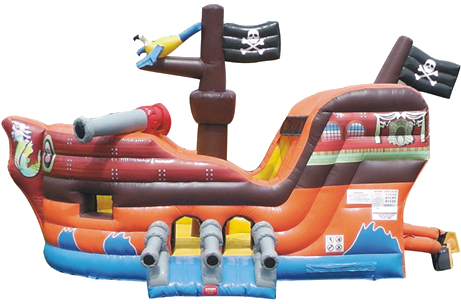 Pirate Ship Combo Bounce House