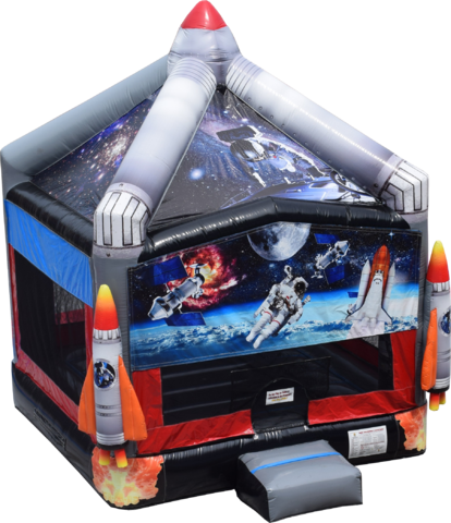Space Rocket Bounce House