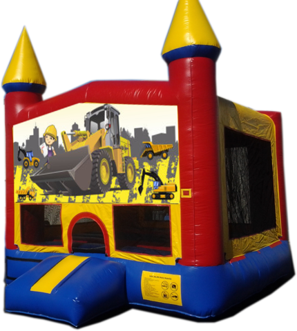 Kids Construction Bounce-CM1BB 13x13