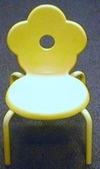Yellow Clover Kids Chair