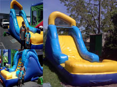14 Ft Backyard Water Slide