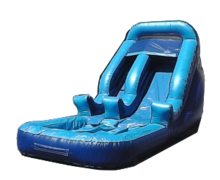 13 FT Blue Surf Slide