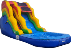 16ft Water Slide with Pool