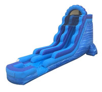 18 Ft Blue Breeze Water Slide