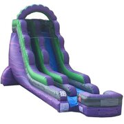 18 Ft Purple Craze Water Slide