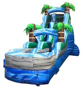 18 Ft Tropical Dream Water Slide