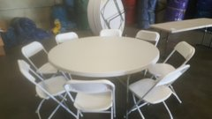 "60"" Round Table & Chair Package"