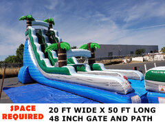 22 Ft Tropical Dream Water Slide