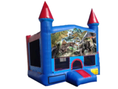 Dinosaurs Blue Castle w/bb