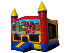 Fire Truck Castle 1  w/bb