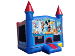 Mickey Mouse Blue Castle  w/bb