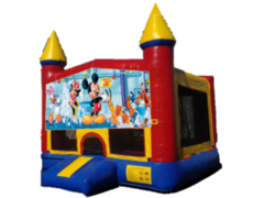 Mickey Mouse Castle 1 w/bb