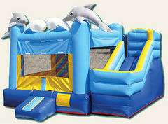Sea World Combo Bounce House