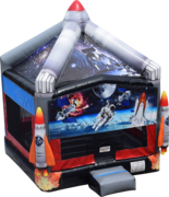 Space Rocket Bounce House- Just In!