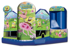 Large Sponge Bob Combo with Obstacles and Slide
