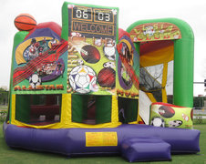 Sports Combo 5 in 1 Bounce House