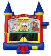 Handy Manny Castle 2 w/ 2 bb hoops