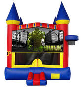 Hulk Castle 2 w/ 2 bb hoops