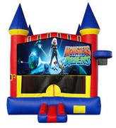 Monsters VS Aliens Castle 2 w/ 2 bb hoops