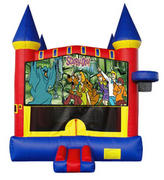 Scooby Castle 2 w/ 2 bb hoops