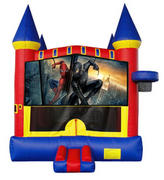 Spiderman III Castle 2 w/ 2 bb hoops