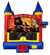 Starwars Castle 2 w/ 2 bb hoops