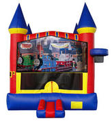 Thomas Train Castle 2 w/ 2 bb hoops