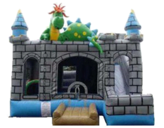 20x20 Dragon Castle Bouncer with Slide