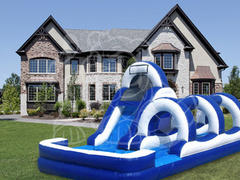 Splash Zone- Combined Water Slide & Slip and Slide