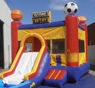 Sports Jump w/Slide and BB hoop