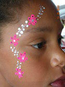 Face Painter (Basic) 2 Hour Minimum/ $60 per hr each additional hour after 2 hours