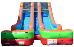 18ft Wild Splash 2-Lane Water Slide