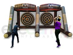 Double Axe Throwing Inflatable-Just In!