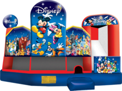 Large World of Disney Combo with Obstacles, Slide